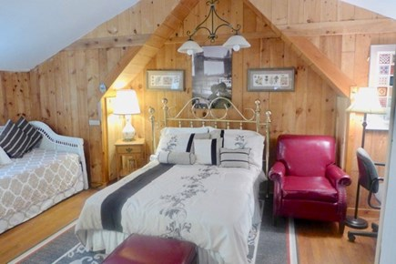 Oak Bluffs Martha's Vineyard vacation rental - Upstairs master with queen and sofa bed.
