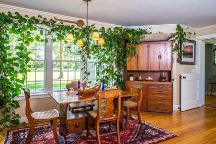 West Tisbury Martha's Vineyard vacation rental - Lovely breakfast dining area in the kitchen.