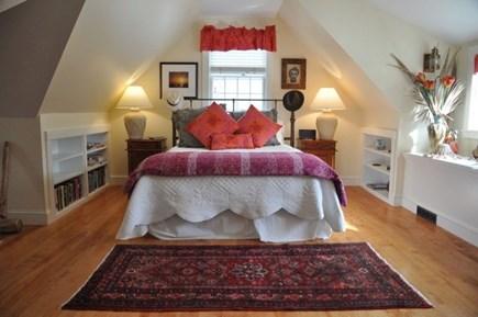 West Tisbury Martha's Vineyard vacation rental - Second floor plush bedroom with secret corridor.