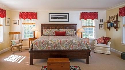 West Tisbury Martha's Vineyard vacation rental - Main bedroom with King bed and en suite.