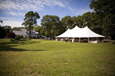 West Tisbury Martha's Vineyard vacation rental - Beautiful grounds with elegant farmhouse and guest house.