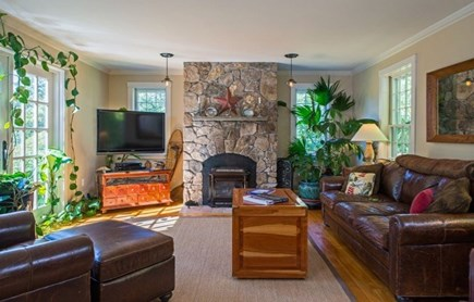 West Tisbury Martha's Vineyard vacation rental - High end finishing throughout the home, warm feeling.