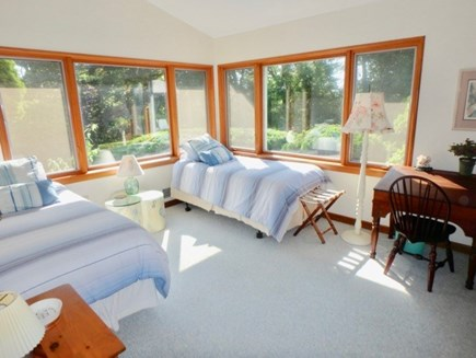 West Tisbury Martha's Vineyard vacation rental - Shared Bathtub and Shower at one end of the ranch.