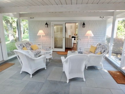West Tisbury Martha's Vineyard vacation rental - Guest room with kitchenette and desk space.