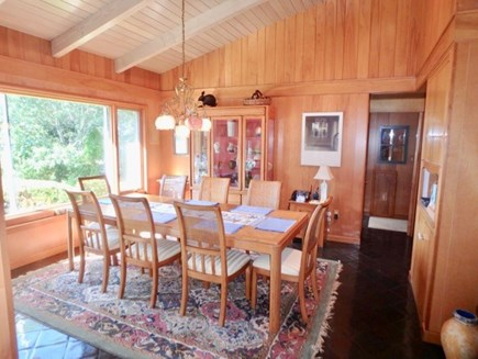 West Tisbury Martha's Vineyard vacation rental - Well equipped galley kitchen with updated appliances.