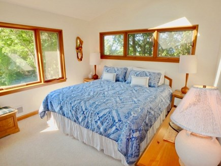 West Tisbury Martha's Vineyard vacation rental - Twins bedroom with generous views of the Vineyard Sound.