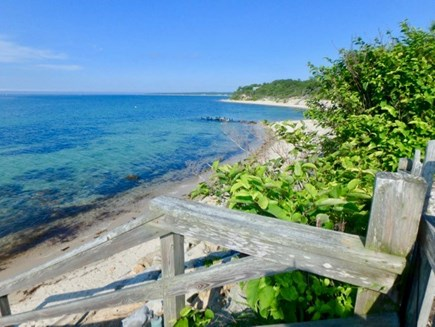 West Tisbury Martha's Vineyard vacation rental - Gorgeous landscaped lawn with park benches and rolling hills.