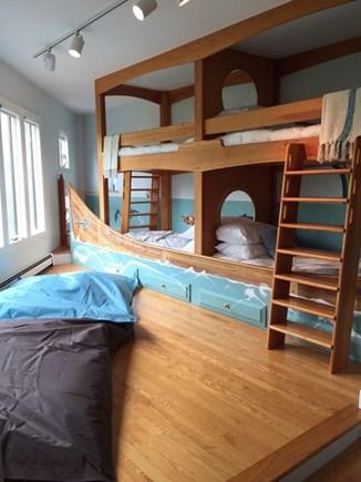 Katama - Edgartown, Katama  Martha's Vineyard vacation rental - Kids bedroom - 4 bunkbeds and 2 pull out beds