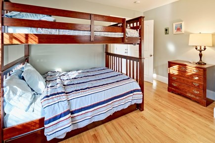 Vineyard Haven Martha's Vineyard vacation rental - Bunk room with full beds and pullout trundle