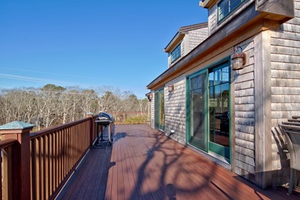 Vineyard Haven Martha's Vineyard vacation rental - 1000 ft spacious wrap around deck with plenty of seating