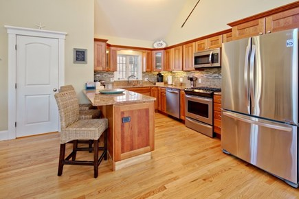 Vineyard Haven Martha's Vineyard vacation rental - Stainless appliances throughout kitchen