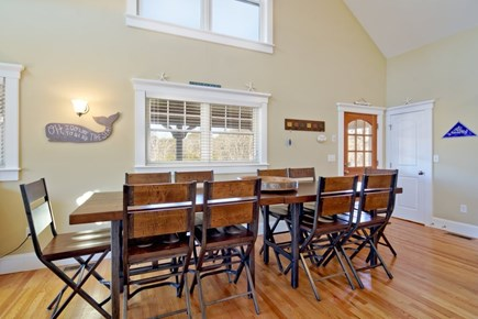 Vineyard Haven Martha's Vineyard vacation rental - Double sized farmer's table for 10 + seating