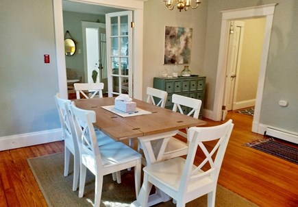 Oak Bluffs, Near MV Hospital Martha's Vineyard vacation rental - Still in the dining room