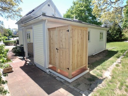Oak Bluffs Martha's Vineyard vacation rental - Brand new outdoor enclosed hot/cold outdoor shower