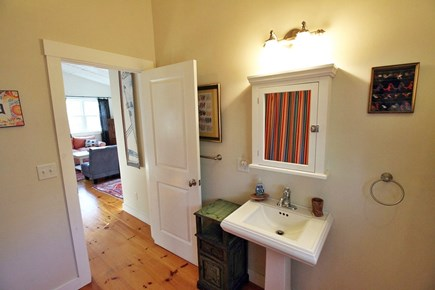 Vineyard Haven, Off Main Street Martha's Vineyard vacation rental - Upstairs Bathroom on Top Floor