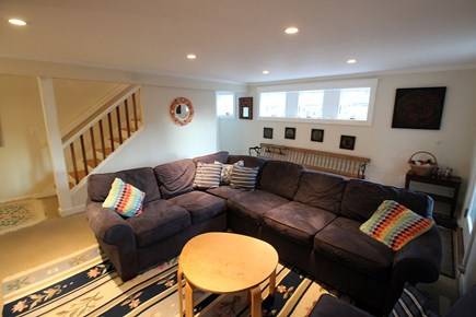 Vineyard Haven, Off Main Street Martha's Vineyard vacation rental - Downstairs Family Room