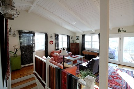 Vineyard Haven, Off Main Street Martha's Vineyard vacation rental - The whole upstairs has a great summer home feel.  Relaxing.