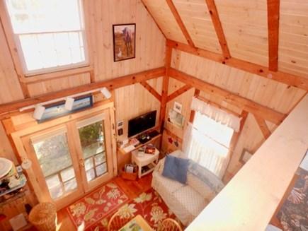 Edgartown Martha's Vineyard vacation rental - Looking down from loft!