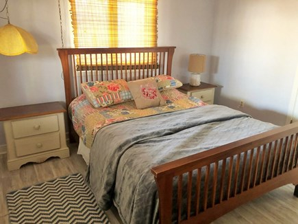 Chappaquiddick Martha's Vineyard vacation rental - Queen Bed, with closet, dresser and two windows