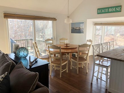 Chappaquiddick Martha's Vineyard vacation rental - Dining area