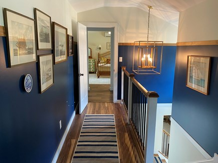 Oak Bluffs Martha's Vineyard vacation rental - Upstairs landing accessing Suites 1 and 2.