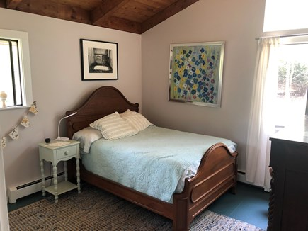 West Tisbury Martha's Vineyard vacation rental - Upstairs bedroom, double bed, large closet, peaceful and breezy.
