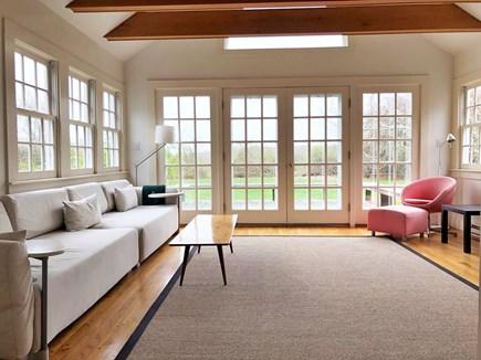 West Tisbury Martha's Vineyard vacation rental - Sun room