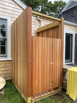 West Tisbury Martha's Vineyard vacation rental - New Outdoor Shower