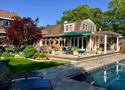 West Tisbury Martha's Vineyard vacation rental - Perfect Oasis for Vacation fun!  Enclosed heated pool.
