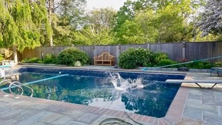 West Tisbury Martha's Vineyard vacation rental - Outdoor pool, beautifully landscaped, heated.