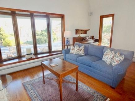 West Tisbury Martha's Vineyard vacation rental - Spacious living room