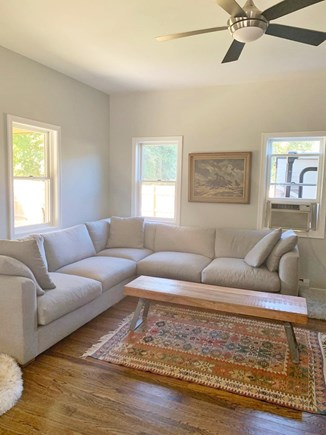 Oak Bluffs Martha's Vineyard vacation rental - Bright, spacious living room with comfy oversized sofas