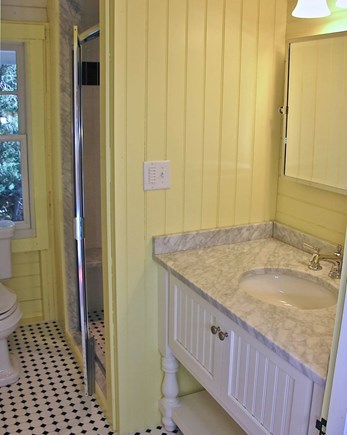 Oak Bluffs, East Chop Martha's Vineyard vacation rental - 1st FL Full bath with shower only