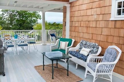 Oak Bluffs, East Chop Martha's Vineyard vacation rental - Plenty of sitting area on the porch