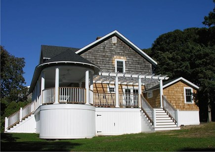 Oak Bluffs, East Chop Martha's Vineyard vacation rental - Rotunda and Pergula