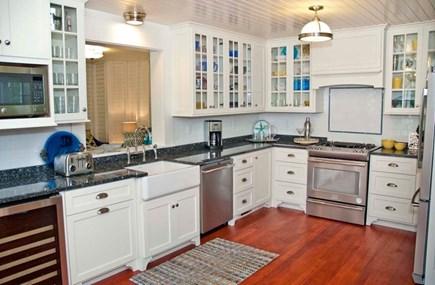 Oak Bluffs, East Chop Martha's Vineyard vacation rental - Gourmet kitchen with a view