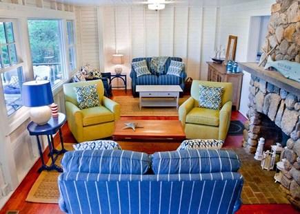 Oak Bluffs, East Chop Martha's Vineyard vacation rental - Living room with a viiew