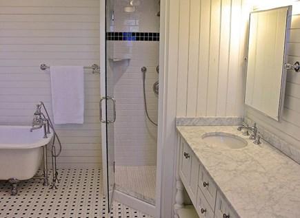 Oak Bluffs, East Chop Martha's Vineyard vacation rental - 2nd FL Master full bath with claw tub & stand alone shower