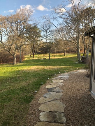 Chilmark Martha's Vineyard vacation rental - Front yard