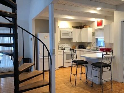 Oak Bluffs, Walk to town- quiet location Martha's Vineyard vacation rental - Modern kitchen with snack bar