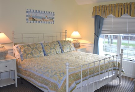 Edgartown, Katama Martha's Vineyard vacation rental - Master bedroom suite with king-size bed.