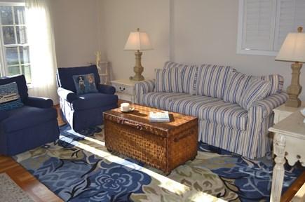 Edgartown, Katama Martha's Vineyard vacation rental - Sundrenched living room.