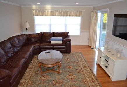 Edgartown, Katama Martha's Vineyard vacation rental - Spacious family room that is perfect for movie night.