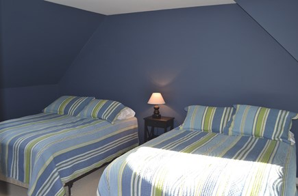 Edgartown, Katama Martha's Vineyard vacation rental - Large bedroom with 2 full-size beds.