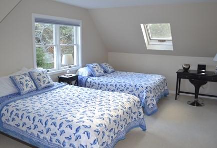 Katama - Edgartown, Katama Martha's Vineyard vacation rental - Third bedroom with 2 queen-size beds.