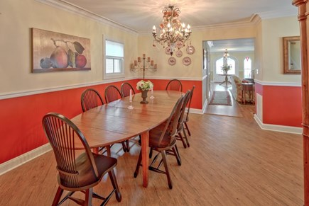 Oak Bluffs Martha's Vineyard vacation rental - Dining room table comfortably seats 12