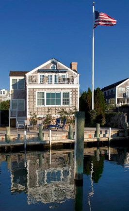 Edgartown, The Dexter House Martha's Vineyard vacation rental - View from Harbor