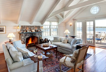 Edgartown, The Dexter House Martha's Vineyard vacation rental - Open Concept Living Room