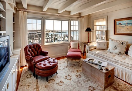 Edgartown, The Dexter House Martha's Vineyard vacation rental - Lower Level Den