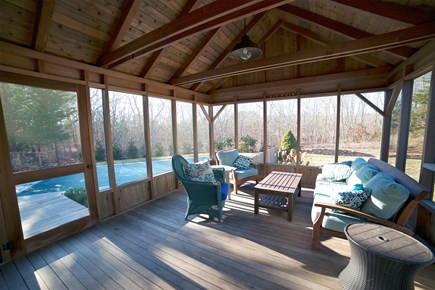 Edgartown, ENC2065 Martha's Vineyard vacation rental - Screened in Porch